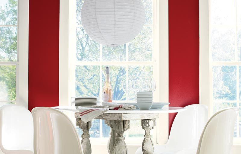 Benjamin Moore's 2018 Colour of the Year is Caliente