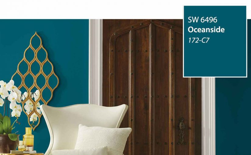 Sherwin-Williams 2018 Colour of the Year — Oceanside