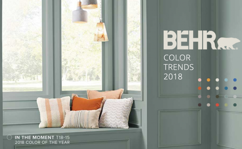 Behr Chooses Its 2018 Colour of the Year