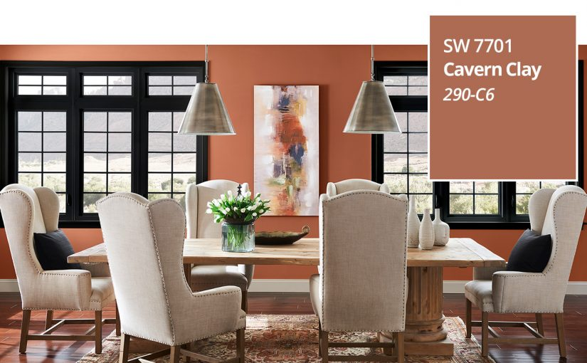 Sherwin-Williams 2019 Colour of the Year — Cavern Clay