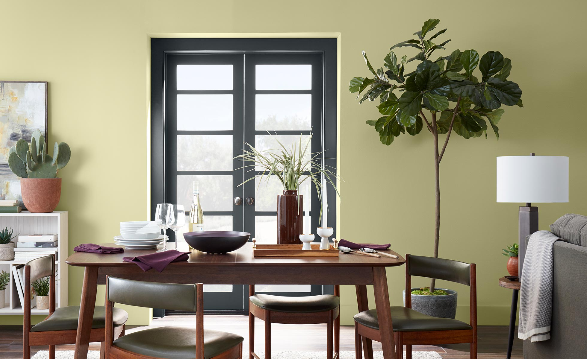 Behr S 2020 Colour Of The Year Is Back To Nature Monarch