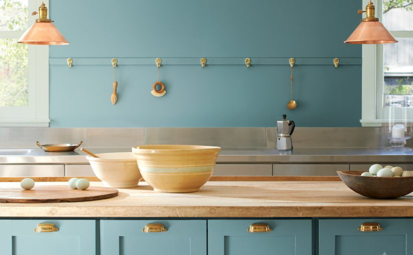 Benjamin Moore's 2021 Colour of the Year: Aegean Teal